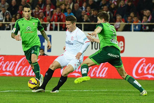 DN127_0099 Gameiro Sevilla-Celta QPV ene15