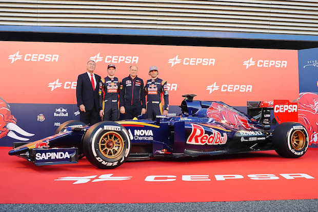 Carlos Sainz Toro Rosso Red Bull 2