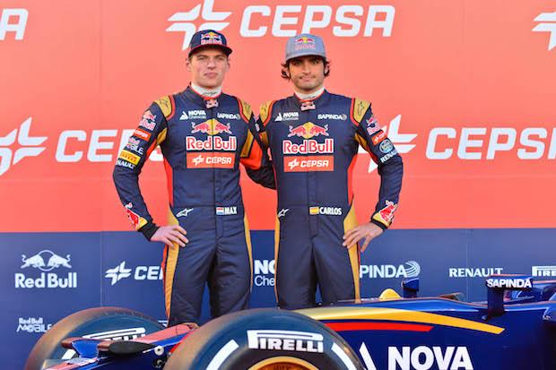 Carlos Sainz Toro Rosso Red Bull