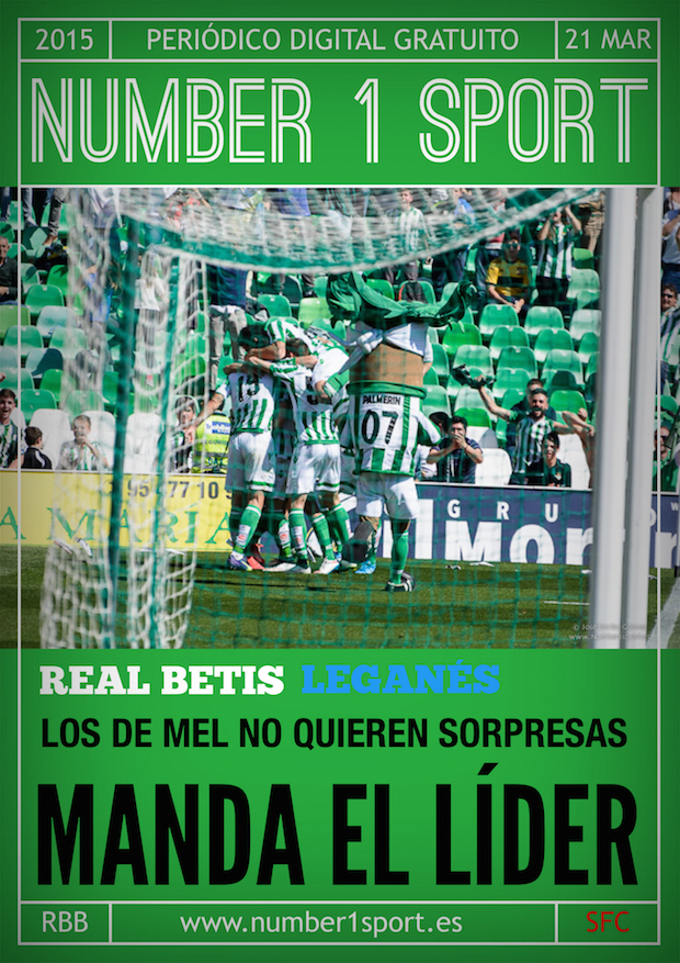 NUMBER 1 PORTADA 21 MAR 15 JOSÉ MIGUEL MUÑOZ