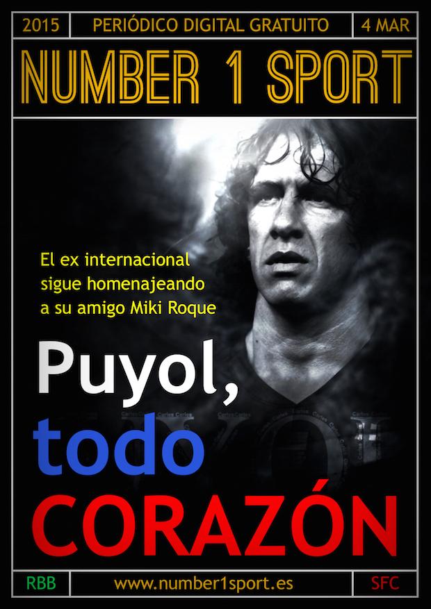 NUMBER 1 PORTADA 4 MAR 15 JOSÉ MIGUEL MUÑOZ