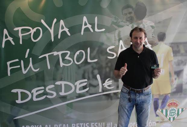 José Vidal Real Betis FSN Campaña abonados