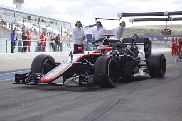 Fórmula 1 McLaren Foto: Pedro Ramos