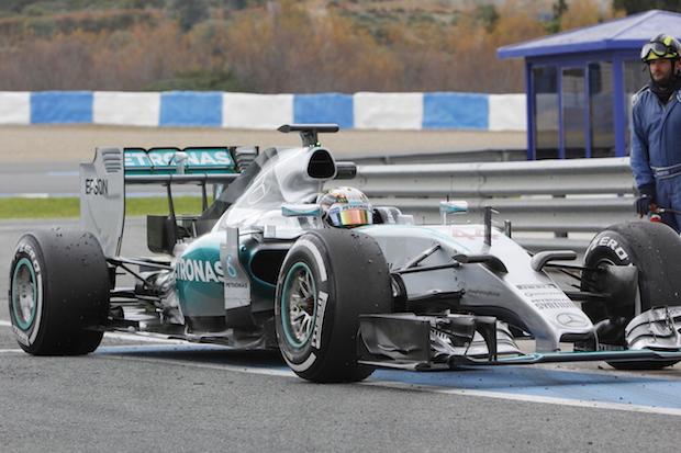 Fórmula 1 Mercedes Pedro J. Ramos