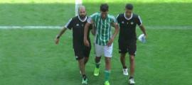 Dani Ceballos lesionado Foto Real Betis