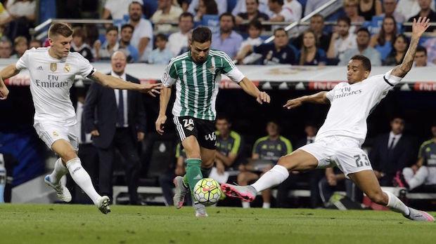 Rubén castro Real Madrid-Betis Foto: Eurosport.es