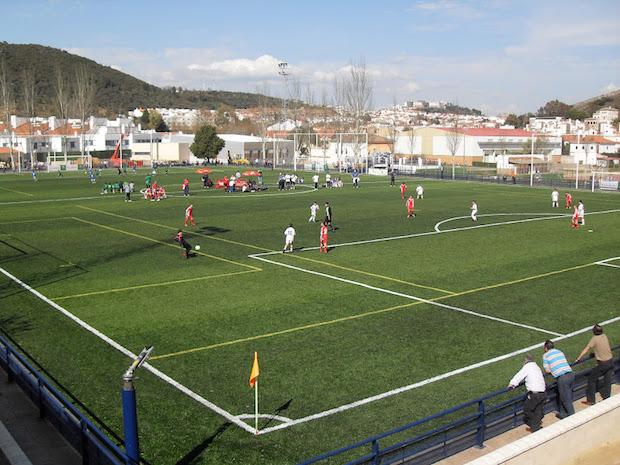 Fútbol de Tercera Campo de futbol