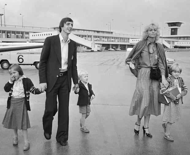 Cruyff y familia