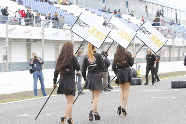 azafatas Wold Series Renault Pedro Ramos 19