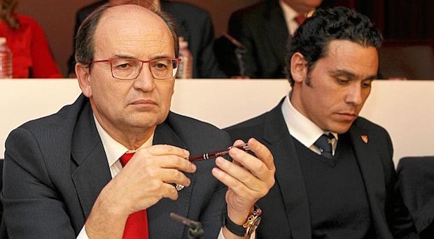 Del Nido Carrasco y Pepe Castro Foto Marca