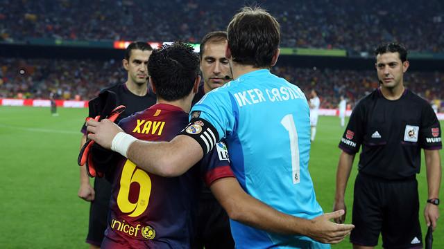 Xavi y IKer Casillas
