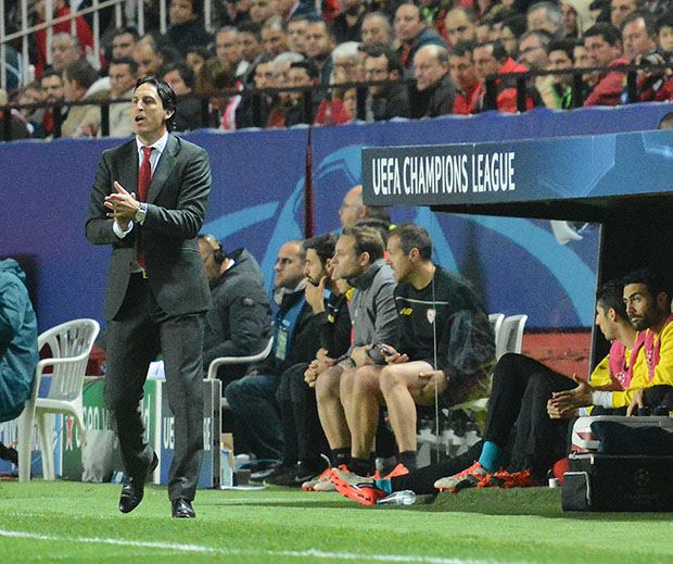 DN130_1225 Emery Sevilla-Juventus QPV dic15