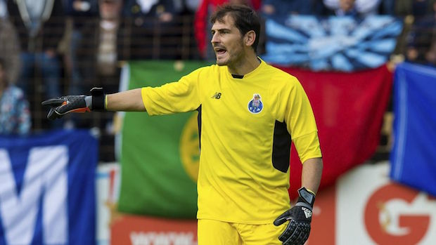 Iker Casillas Oporto Foto: Eurosport