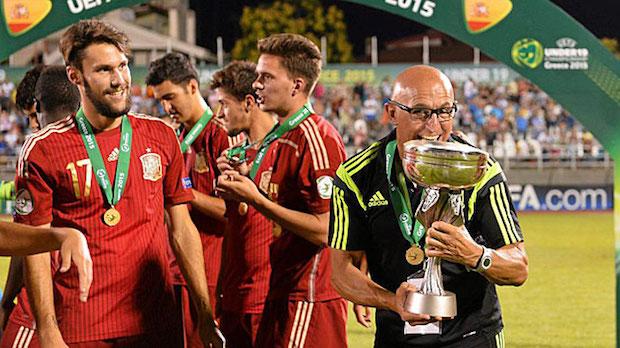 Luis de la Fuente España sub 19 Foto Marca
