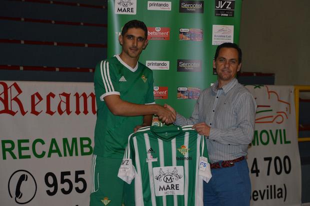 Negro y Paco Chamorro Real Betis FSN