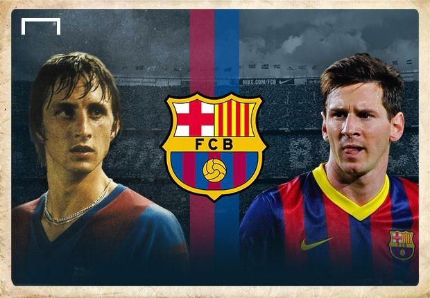Cruyff y Messi Foto Goal.com