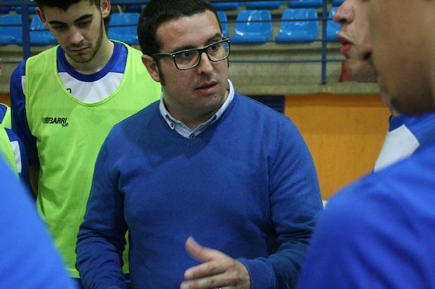 David Fernández Entrenador RBB FSN Juvenil