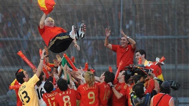 Luis Aragonés Eurocopa 2008 Foto Tarionga.net