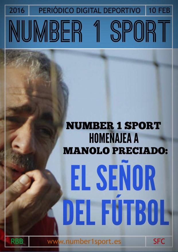 NUMBER 1 PORTADA 10 FEB 16 JOSÉ MIGUEL MUÑOZ