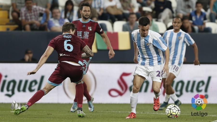Real Sociedad-Málaga Foto LFP