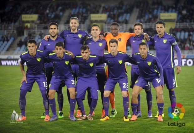 Real Sociedad-Málaga CF Foto LFP