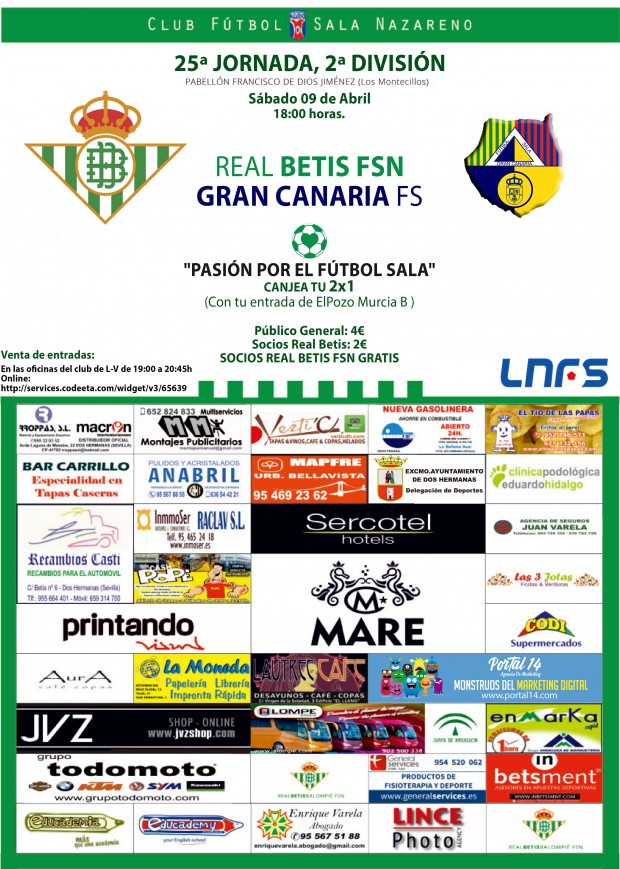 CARTEL REAL BETIS FSN