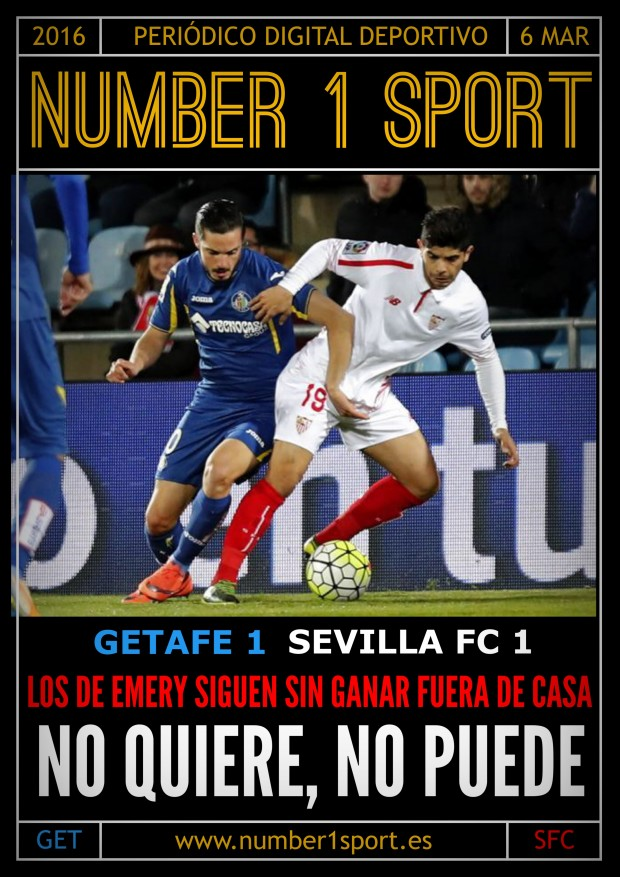 NUMBER 1 PORTADA 6 MAR 16 JOSÉ MIGUEL MUÑOZ