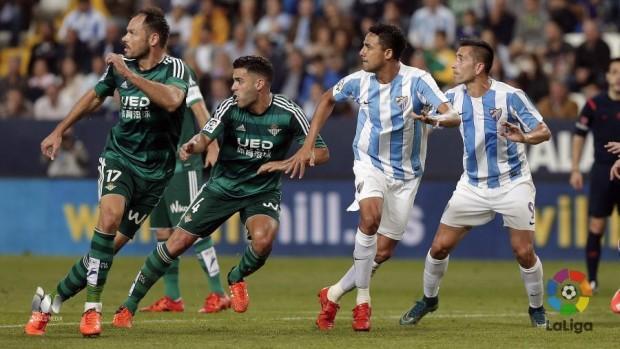 Málaga-Real Betis Foto LFP