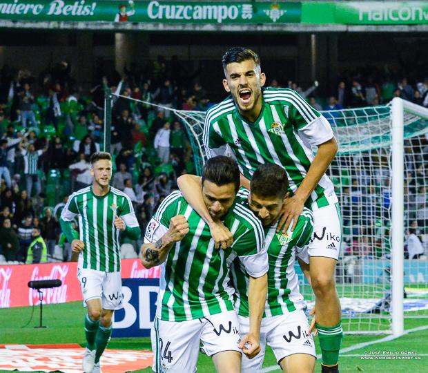 Rubén Castro Betis-Levante Alegría gol