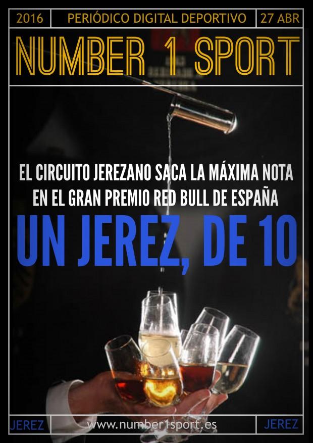 NUMBER 1 PORTADA 27 ABR 16 JOSÉ MIGUEL MUÑOZ