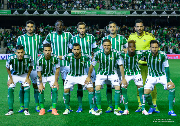Real Betis-Levante once inicial