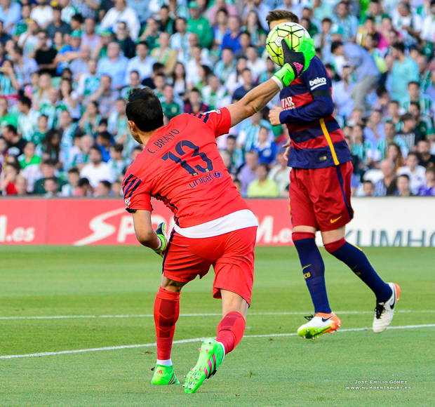 C. Bravo Betis-Barcelona