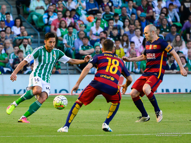 Cejudo Betis-Barcelona