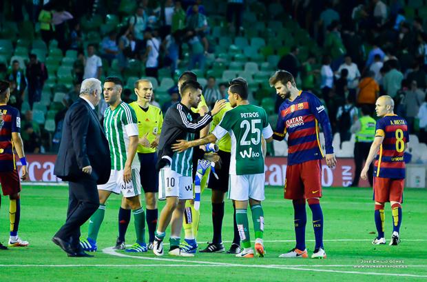 FInal partido Betis-Barcelona