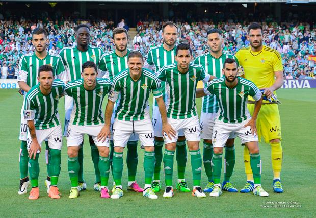 Foto equipo Betis-Barcelona
