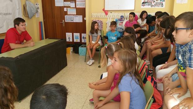 Rafa Andarias colegio 2