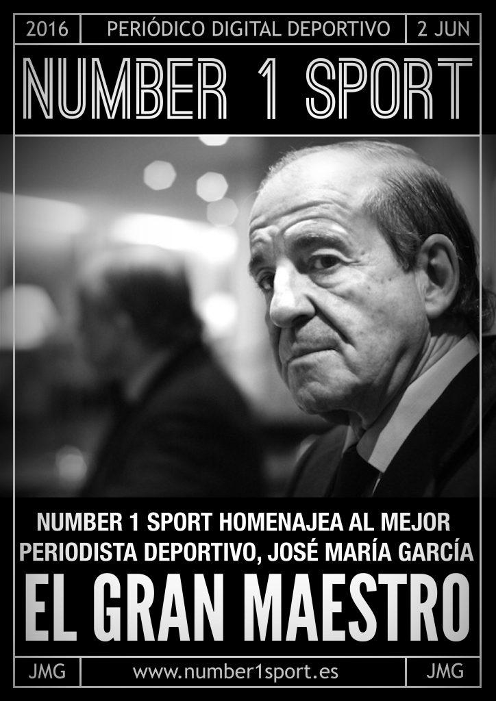 NUMBER 1 PORTADA 2 JUN 16 JOSÉ MIGUEL MUÑOZ