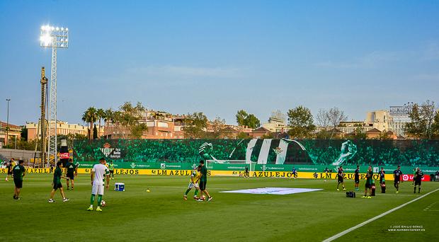 Calentamiento Betis-Deportivo