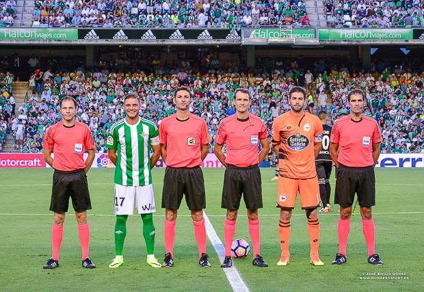 Capitanes Betis-Deportivo