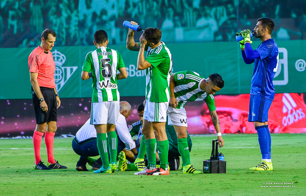 Lesion Betis-Deportivo