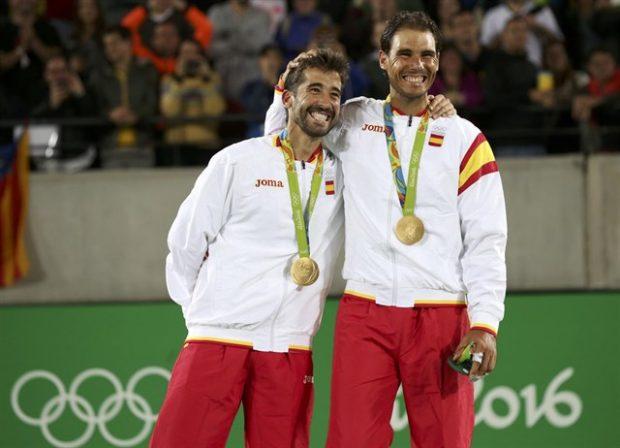 Rafa Nadal y Marc López oro olímpico JJOO Brasil 2016