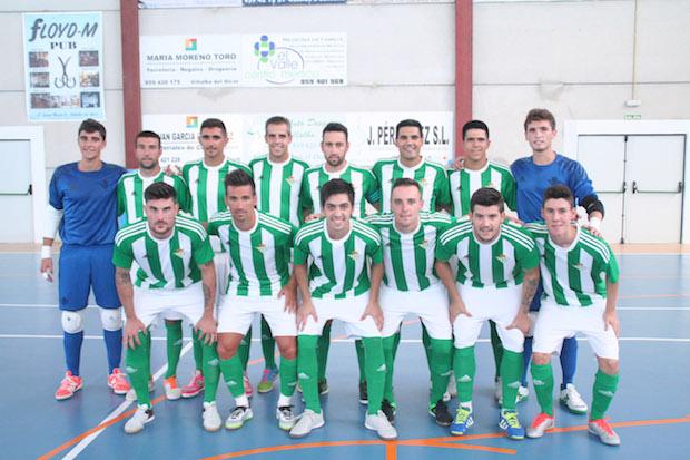 real betis Futsal 2016:2017 CD VIllalba FS-Real Betis Futsal