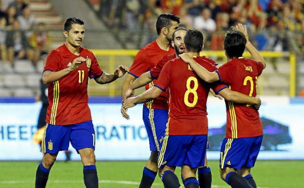vitolo selección española Foto ED